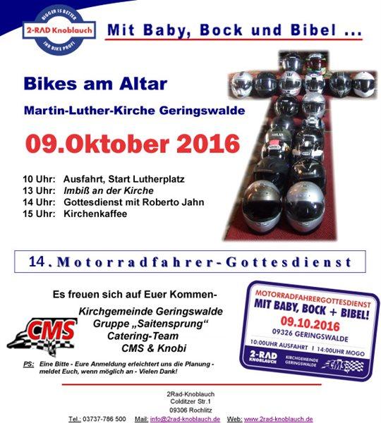 Mit Baby, Bock & Bibel... 14.MOGO in Geringswalde