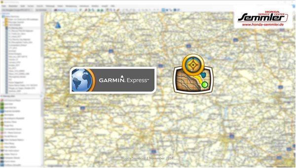 Honda Semmler - Workshop - Garmin Express und BaseCamp