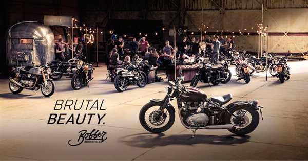 TRIUMPH Bobber Preview in Frankfurt am 07.12.2016