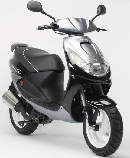gebrauchte peugeot vivacity 50 sportline motorr der kaufen. Black Bedroom Furniture Sets. Home Design Ideas