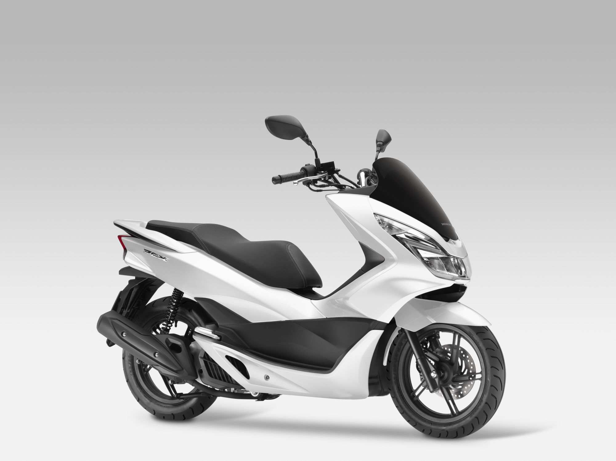 honda pcx 125 bilder und technische daten. Black Bedroom Furniture Sets. Home Design Ideas