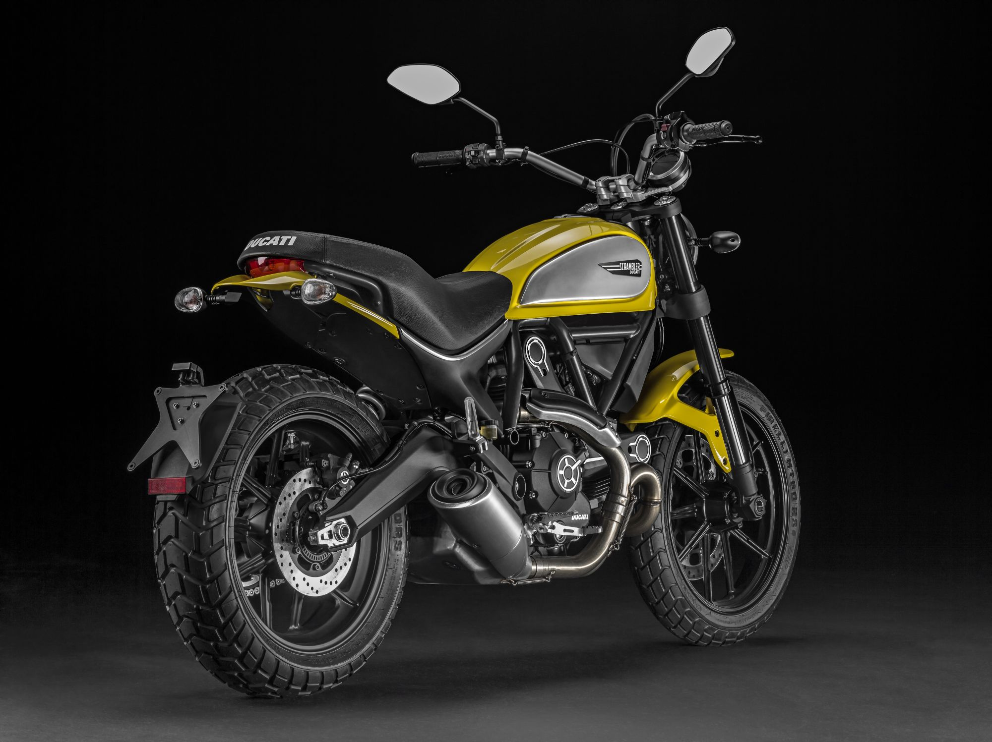 ducati scrambler icon yellow online kaufen. Black Bedroom Furniture Sets. Home Design Ideas