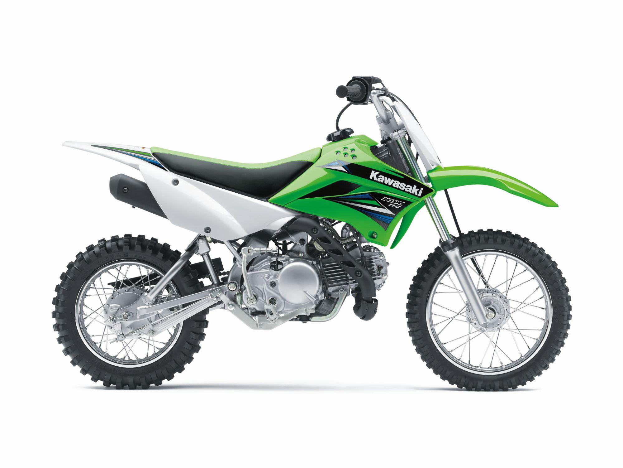 Kawasaki KLX 110 - Todos los datos técnicos del modelo KLX