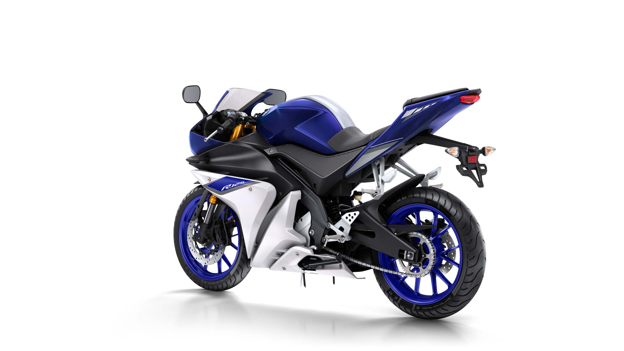 yamaha yzf r125 bilder und technische daten. Black Bedroom Furniture Sets. Home Design Ideas
