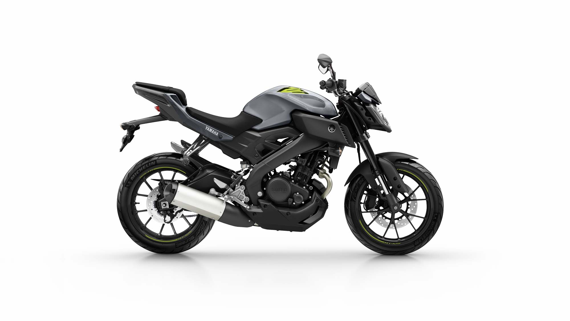 yamaha mt 125 bilder und technische daten. Black Bedroom Furniture Sets. Home Design Ideas