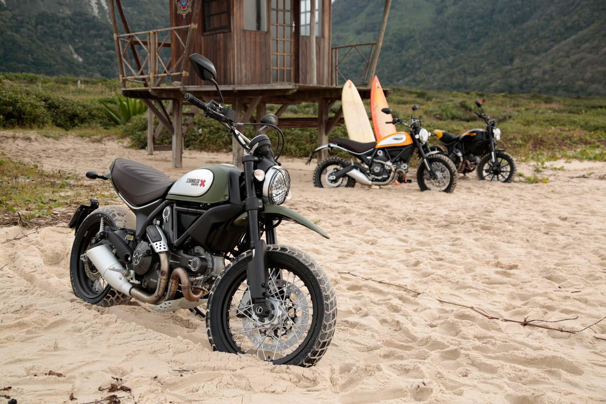 Gebrauchte Ducati Scrambler Urban Enduro Motorr 228 Der Kaufen