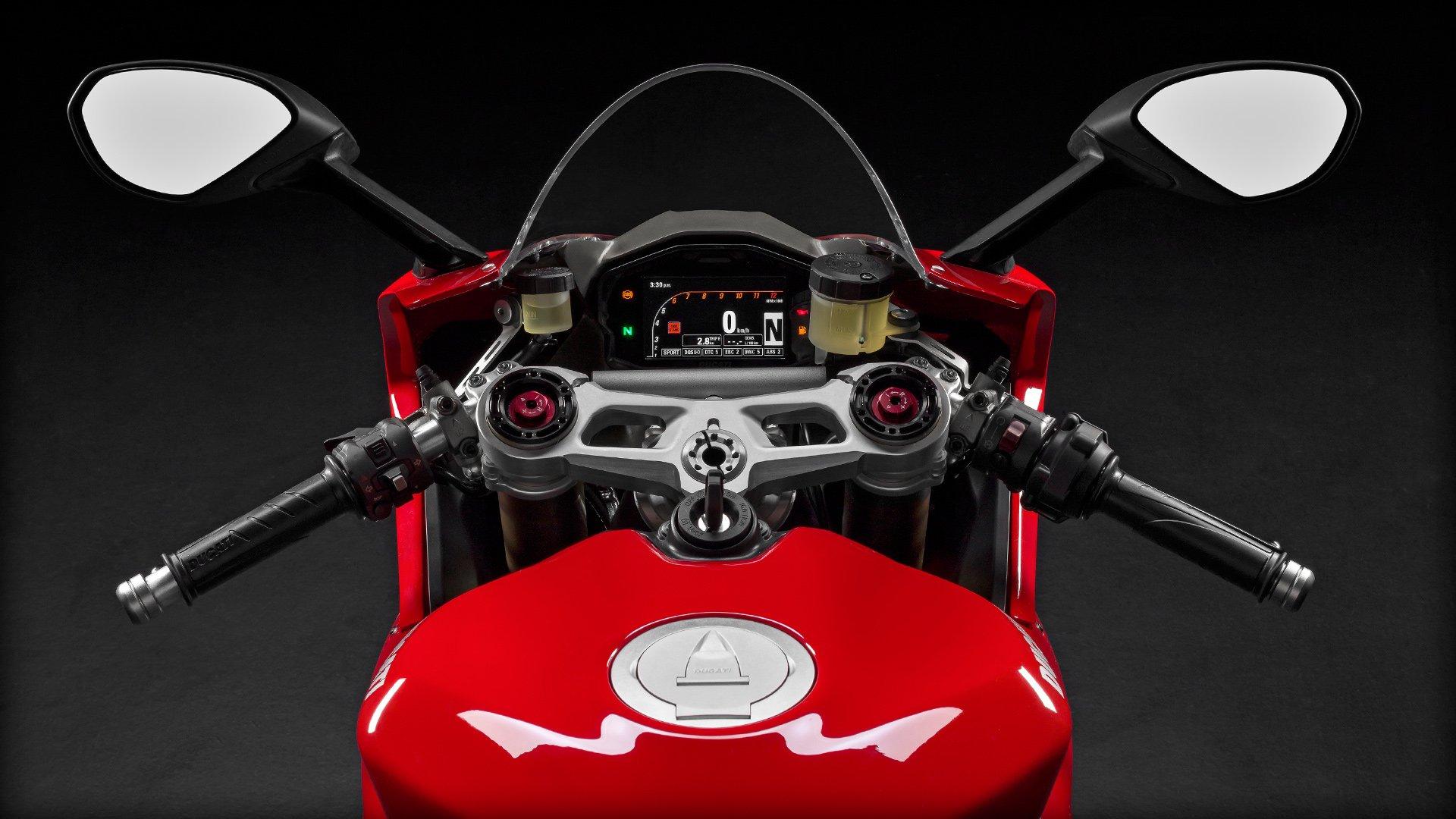 Ducati Panigale Dashboard
