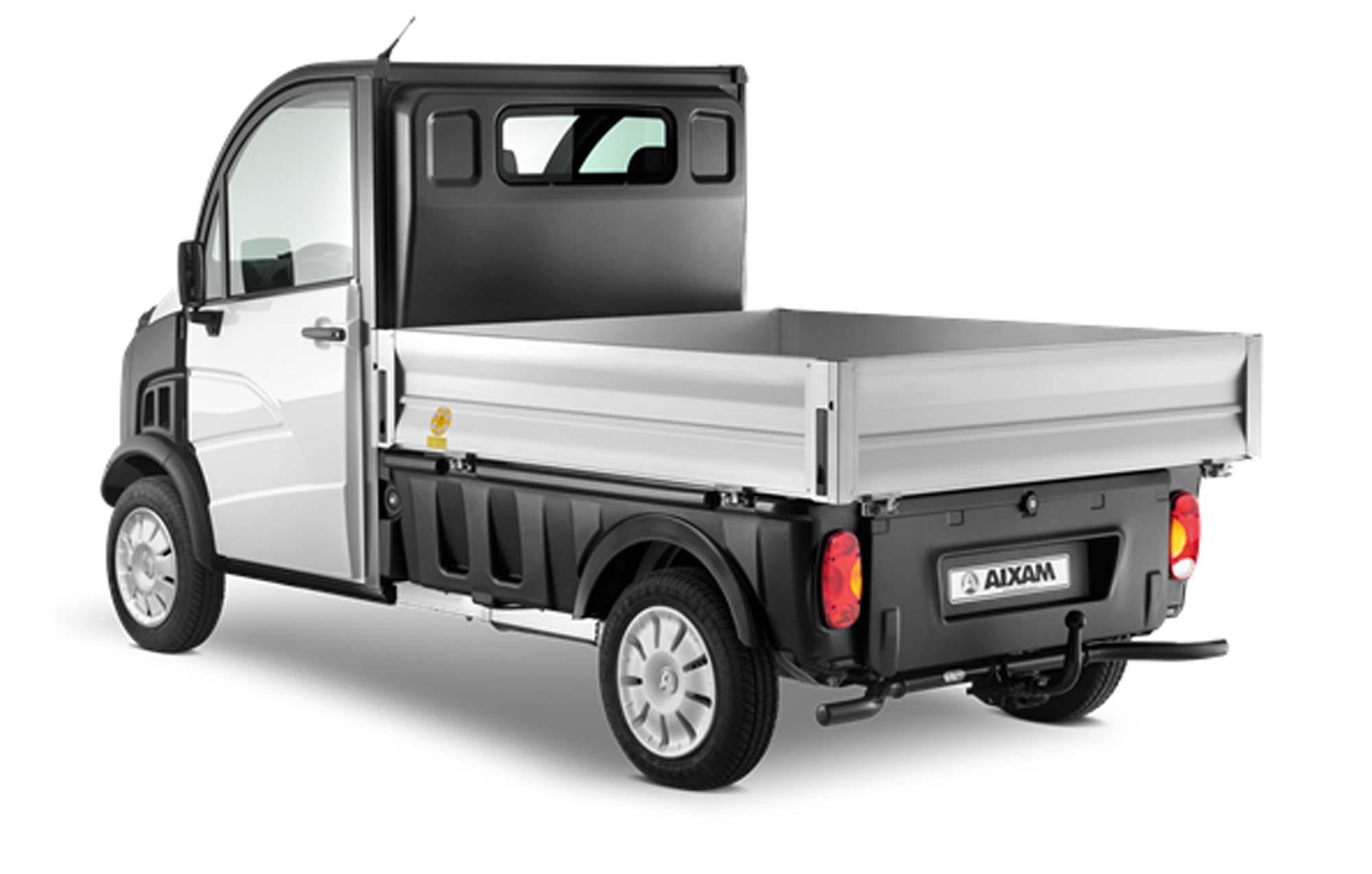 aixam d truck 400 pritsche bilder und technische daten. Black Bedroom Furniture Sets. Home Design Ideas