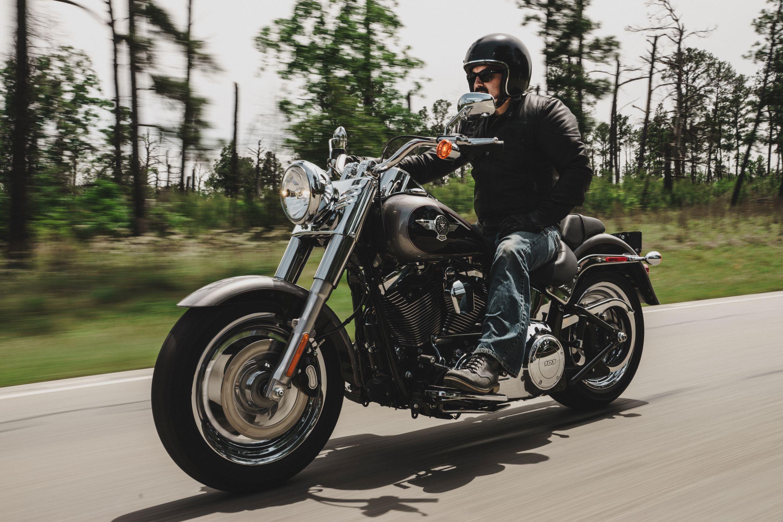 Harley Davidson Softail Fat Boy Flstf Test Gebrauchte