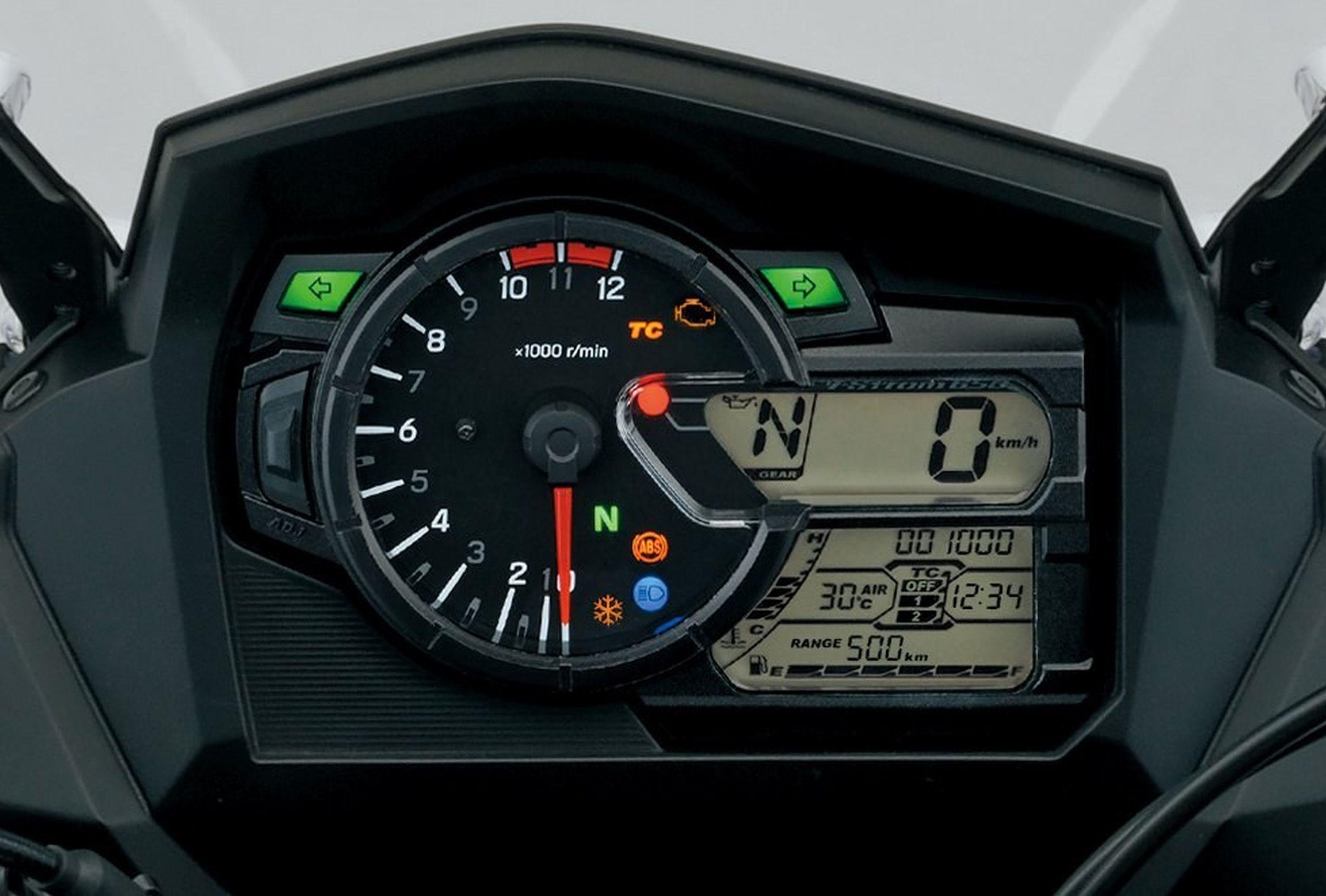 Yamaha R Speedometer