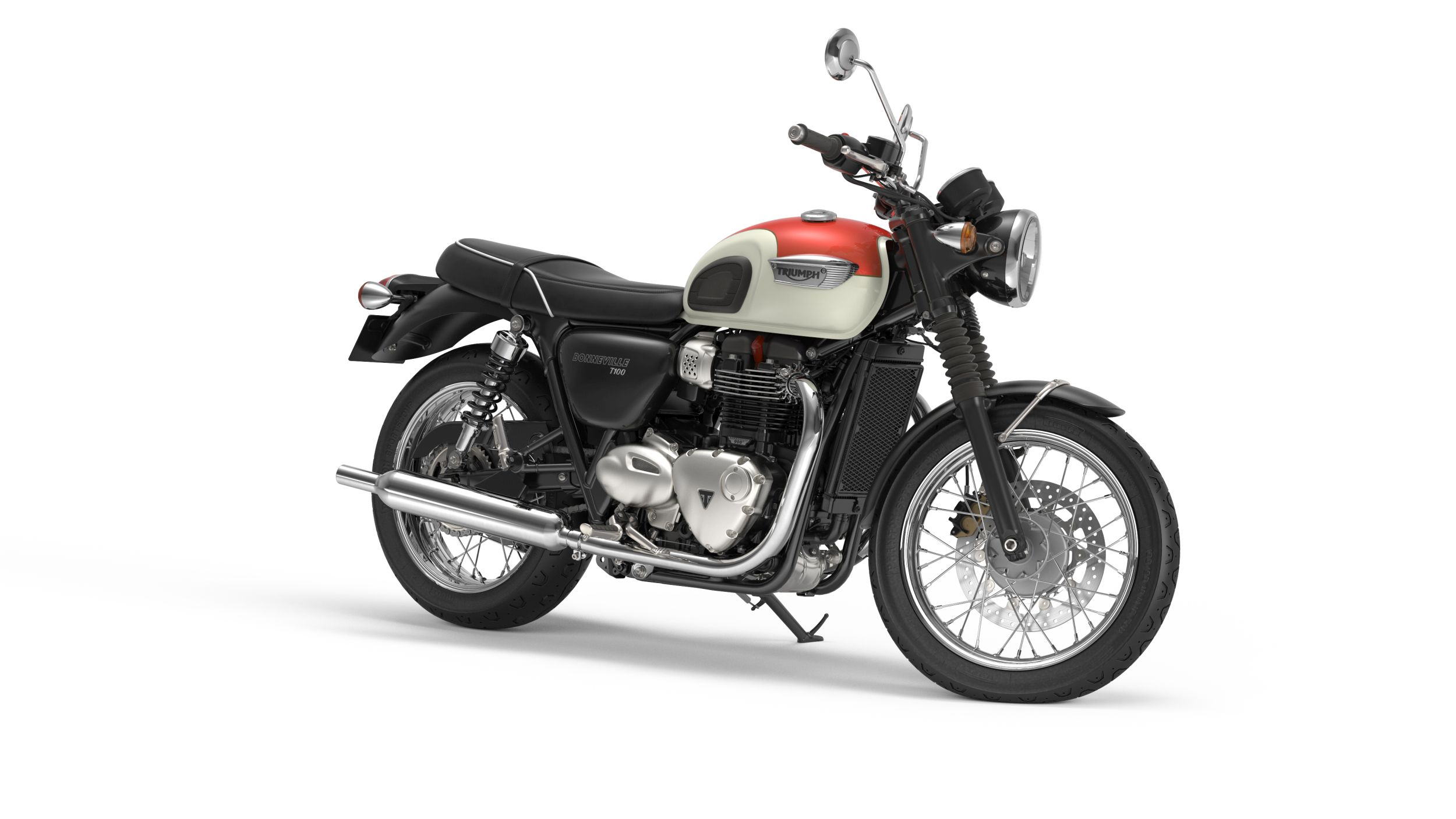 triumph bonneville t100 bilder und technische daten. Black Bedroom Furniture Sets. Home Design Ideas