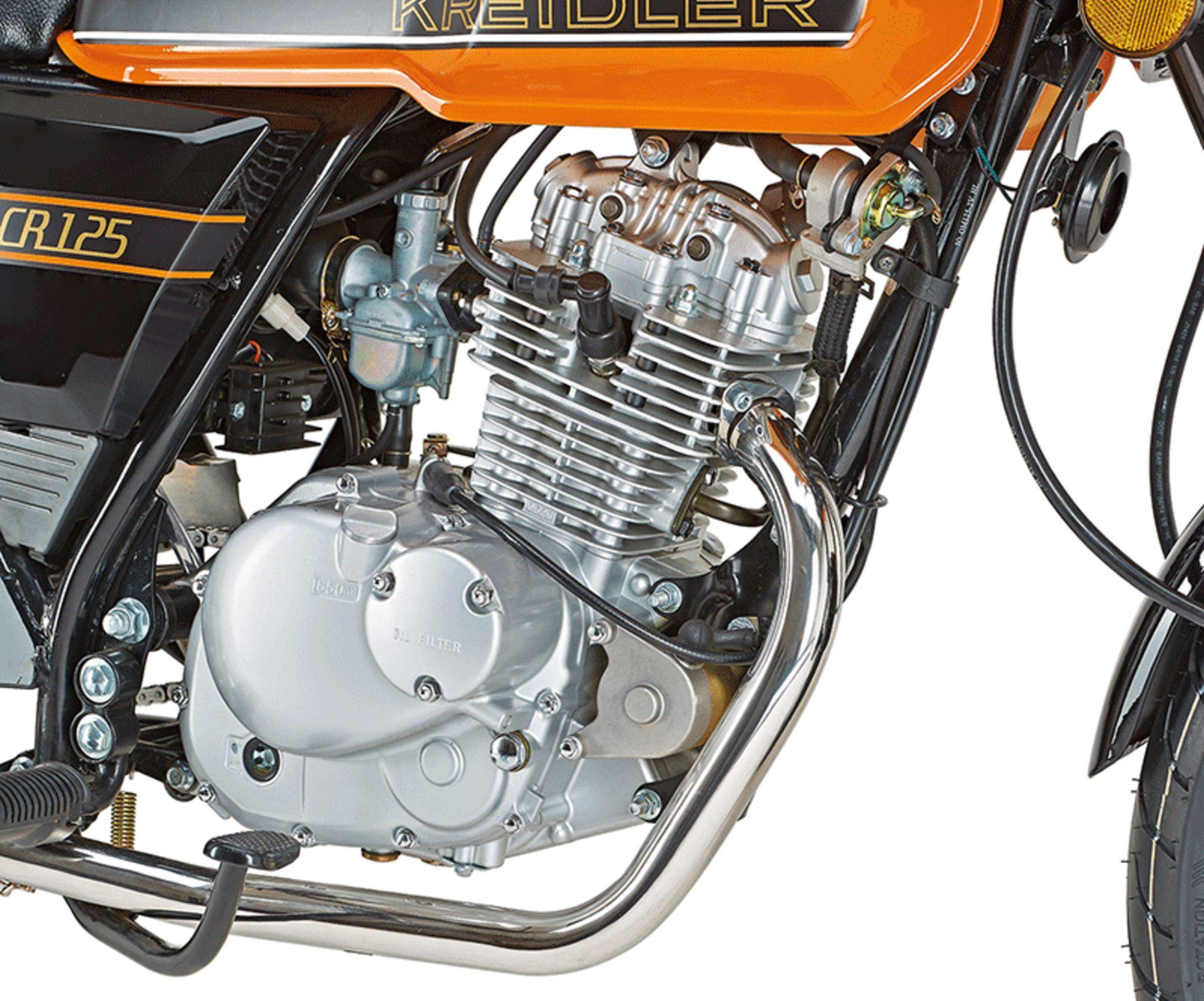Kreidler Street 125 dd in Wuppertal - Ronsdorf   Motorrad