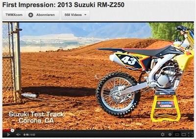 Erster Eindruck: Suzuki RM-Z 250 2013