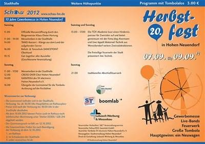 Herbstfest Hohen Neuendorf 2012