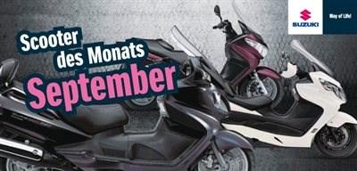 Scooter des Monats: Suzuki Burgmann