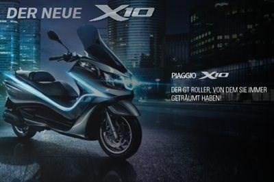 Der neue Piaggio X10
