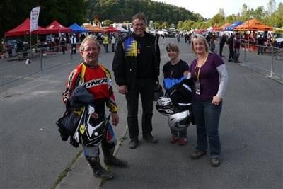 Besuch bei den Sixdays am Sachsenring