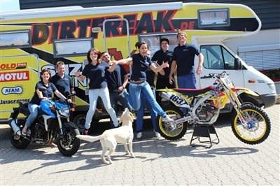 Das Team vom Motostudio