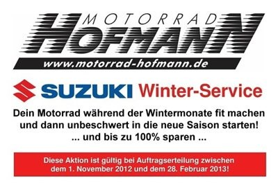 Aktion SUZUKI Winter Service