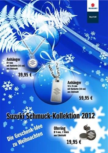 NEU-Schmuck-Kollektion von SUZUKI