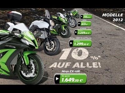 Kawasaki 10% Aktion