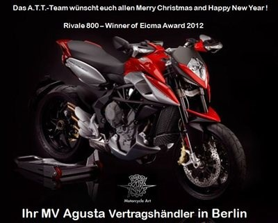 MV Agusta Highlights 2013 & Merry Christmas and Happy New Year!