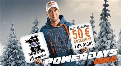 KTM Powerparts Gutschein 50 Euro