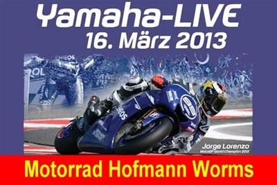 YAMAHA Live! am 16. März von 10:00 bis 16:00 Uhr