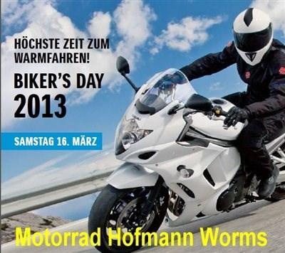 SUZUKI Bikers Day: am 16. März von 10:00 bis 16:00 Uhr