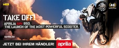 Power Roller Aprilia SRV 850