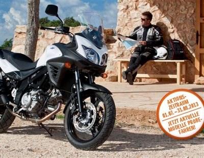 SUZUKI Urlaubs-Check kostenfrei --- na klar!  bei Motorrad Hofmann