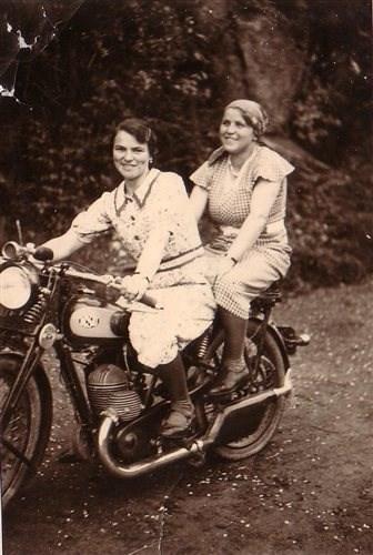 Motorrad Frauenausfahrt 28.09.2013