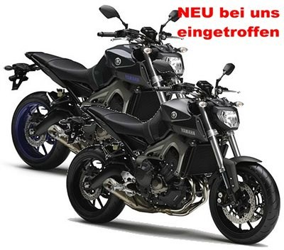 YAMAHA MT-09 gleich 2 mal bei uns in Worms