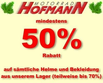 Helme und Bekleidung Abverkauf ab 50% Rabatt