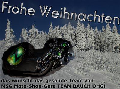 Weihnachtsgrüße Geschäft.Weihnachtsgrüßemsg Moto Shop Gera Team Bauch Ohg
