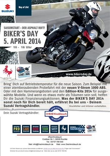 SUZKI Bikers Day 2014