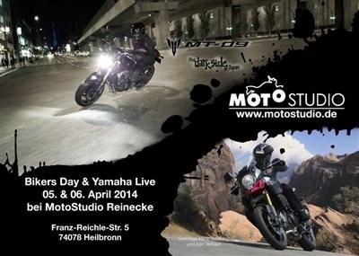 Das war der Biker´s Day und Yamaha Live