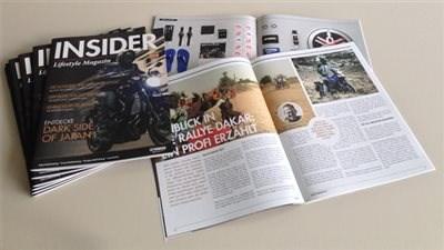 """YAMAHA Lifestyle Magazin """"Insider"""""""