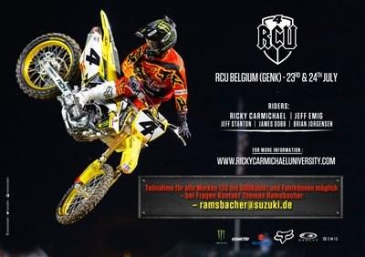 Racing School mit Ricky Carmichael!
