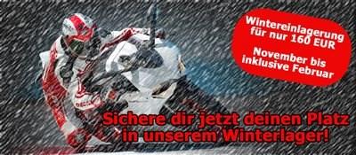 Wintereinlagerung 2014 / 2015
