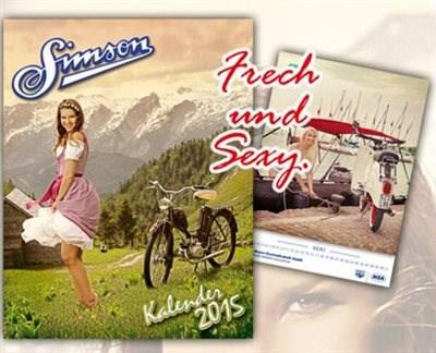 Neue Simson-Kalender 2015 eingetroffen