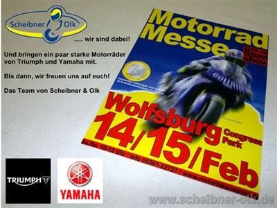MOTORRAD MESSE WOLFSBURG mit SCHEIBNER & OLK aus BRAUNSCHWEIG
