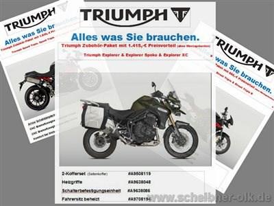 TRIUMPH AKTIONS MODELLE bei SCHEIBNER & OLK in BRAUNSCHWEIG