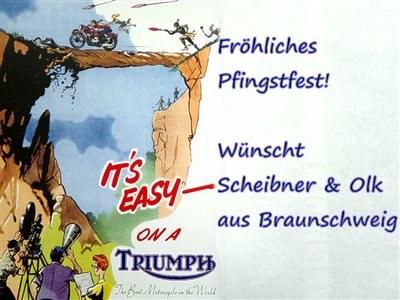 FRÖHLICHES PFINGSTFEST wünscht SCHEIBNER & OLK aus BRAUNSCHWEIG