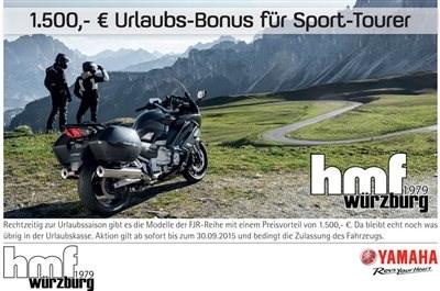 1.500,00 € YAMAHA Ulraubsbonus