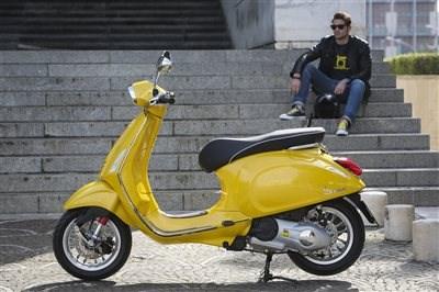 Sommeraktion bei hmf - Vespa fahren für nur 49,00 Euro!