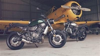 "YAMAHA XSR700 - Yamaha's ""Faster Sons"""