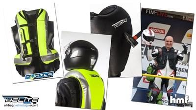 Video HELITE Motorrad-Airbag-System
