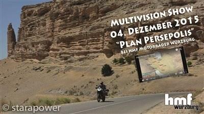 PLAN PERSEPOLIS Multivision Event am 04. Dezember