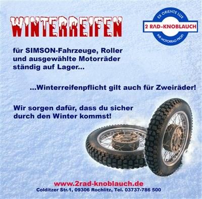 Sicher und Bussgeldfrei durch den Winter...